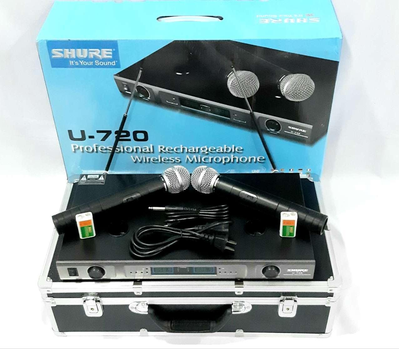 Micro không dây Shure U720