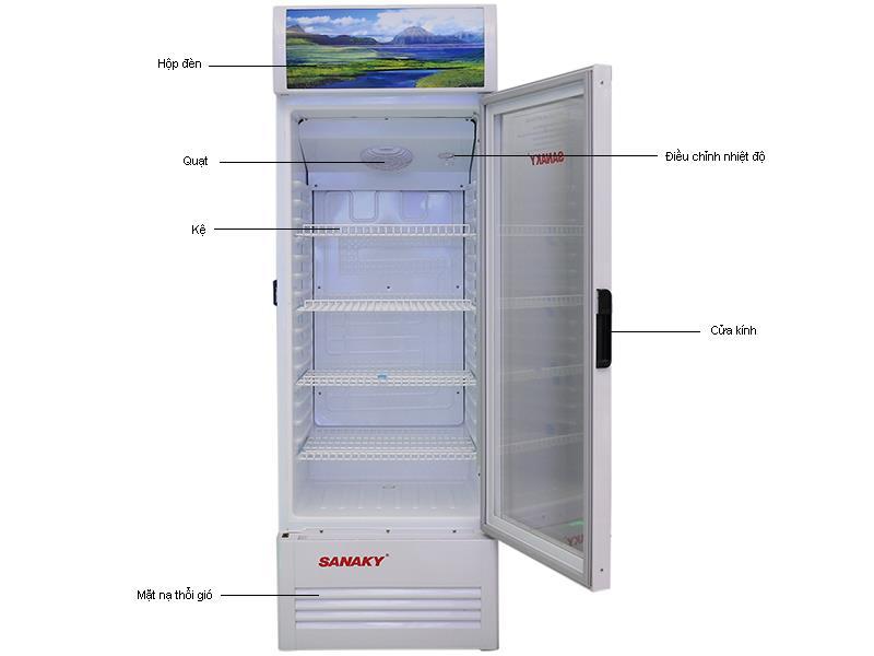 Tủ mát Sanaky VH-358K - 350L