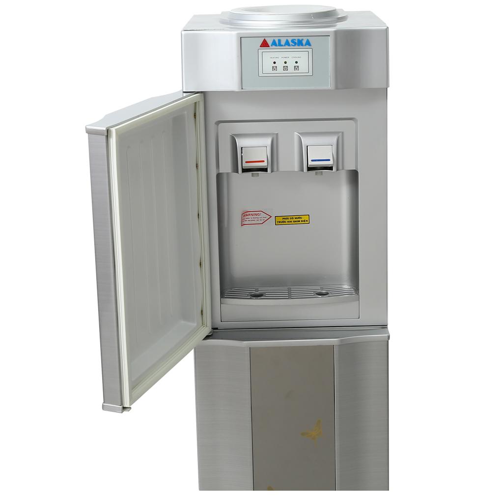 Máy nước uống nóng lạnh Alaska R-80 (Bạc)