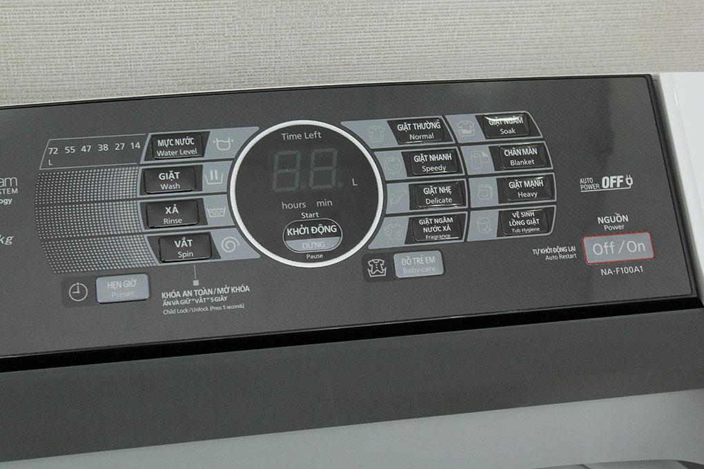 Máy giặt Panasonic 10 kg NA-F100A1WRV