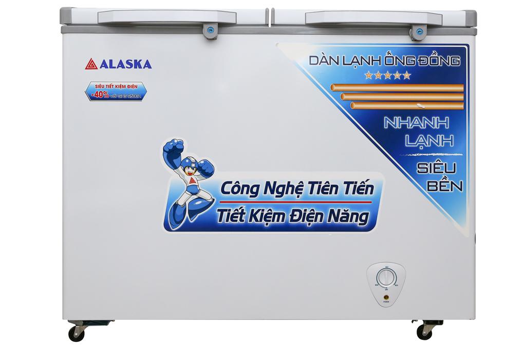 Tủ đông Alaska 350 lít BCD-3568C