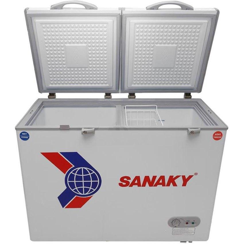 TỦ ĐÔNG SANAKY 2 NGĂN VH-255W2