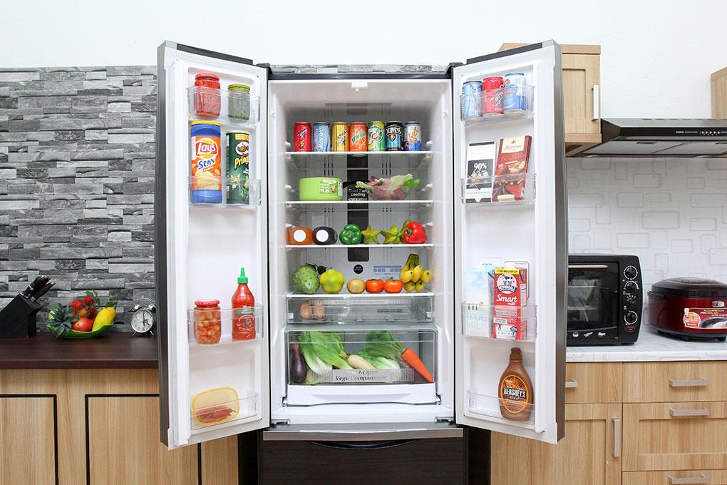 Tủ lạnh Hitachi Inverter 382 lít R-WB475PGV2 GBK